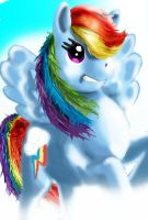 Rainbow Dash! by Bliss-Whitely