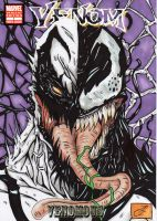 anti venom vs venom colour cov by darkartistdomain