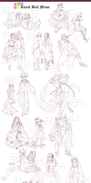 MAGE: Royal bally outfits by avodkabottle