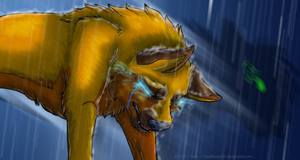 Catching the Rain [vent] by Stealfang-FP