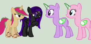 .:Collab -- Meet Tiger and Midnight:. by HomestuckObsessed