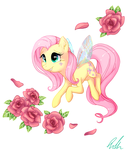 A Flutter Pony by C-Puff