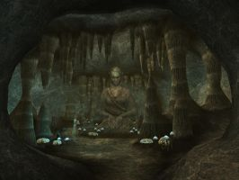 Morrowind 32 Cavern of the Incarnate by grishnak-mcmlxxix