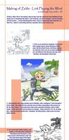 Making Link Playing the Wind by rafaelventura