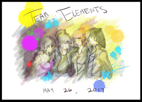 Team Elements - Team now, friends forever by 6stringRaven