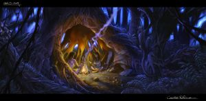 The Legend of King Nal Environment Concept Art 09 by RodGallery