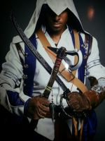 Anime Expo 2013 as Assassins Creed 3 Achilles by DeimosForte