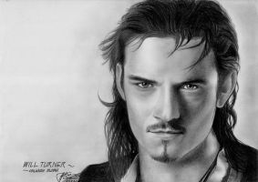 Will Turner ::Orlando Bloom:: by LivieSukma