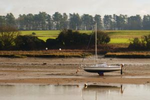 Low tide at Woodbridge - Suffolk by PhilsPictures