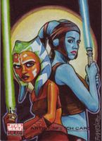 SWG4:Aayla and Ahsoka by Randy-Martinez