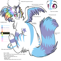 Odette ref by BellaPanther