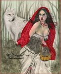 Red Riding Hood by Katerina-Art