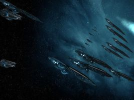 SoaSE - Halcyon Carrier Fleet by ChapterAquila92