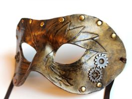 Steampunk Mask by OakMyth
