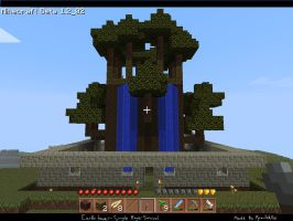 My Earthen Tower in MINECRAFT by Pyrovilekiller