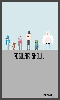Regular Show by crowecrowe