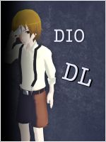MMD Mad Father Character Dio by AleNor1