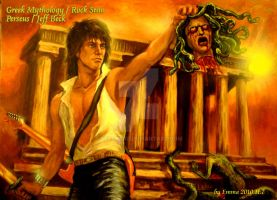 Perseus Jeff Beck and Medusa by beckpage