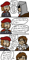 don't be a jerk, ezio by iously