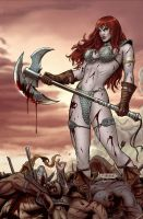 Red Sonja 45 by Maiolo