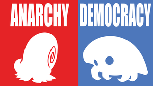 Anarchy/Democracy by DashingHero