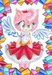 +Amy Rose+ Angel by MEISerenade