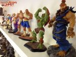 Statues upon statues! by StateOfTheArt-toys