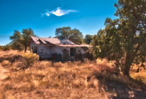 Abandoned House 1 by JayDavisPhotos