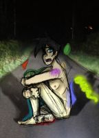 DbD: 133: On a Road at Night... by DisneyPhantomlover