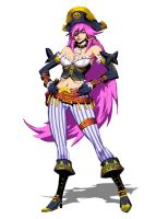 Ultra Street FIghter IV - Poison Alt Outfit by GENZOMAN