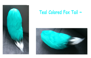 Teal Fox Tail~ by The69thEye
