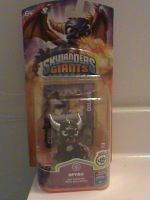 Skylanders-Dark Spyro Series 2 Custom-In Box by KrazyKari