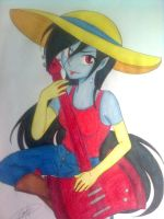 Marceline the Vampire Queen by flodoyle