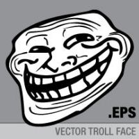 Vector Troll Face by purpleyoshi1
