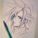 Cloud Strife ff7 by ShelindaArt