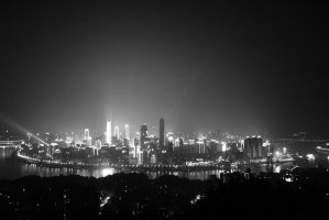 Chongqing Skyline by Janina-Photography