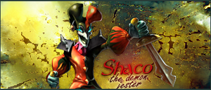 shaco sign fixed by ddpuka