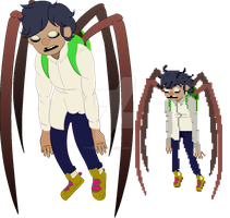 Makoto the Spider-boy by ATSStalker