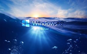 Windows 8.1 blue sea EgFoxDesign by Eg-Art