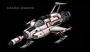 G. Anderson's UFO Interceptor by Andared