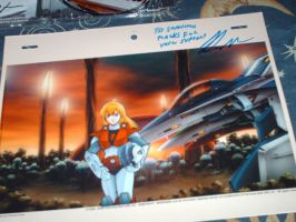Robotech Cell by QueenLeaShanneen