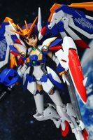 MS Girl Gundam Wing EW ver by OvermanXAN