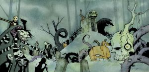 DARK AND STORMY NIGHT 2011 by GrisGrimly