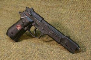 Resident Evil Beretta Red 001 by Matsucorp