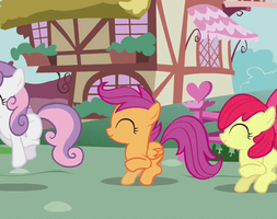 Cutie Mark Crusaders!!! by mykklaw