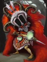 Witch Doctor kid by 8kx
