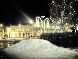 christmas lights by entemin