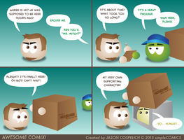 AC! 0.3 - Special Delivery by simpleCOMICS
