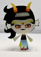 Feferi Homestuck Papercraft by Kittyintheraiyn