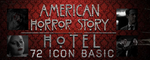 American Horror Story Hotel Icon Basi Pack by CriDz